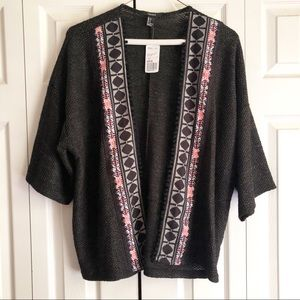 NEW Forever 21 Knit Kimono Cardigan Sweater
